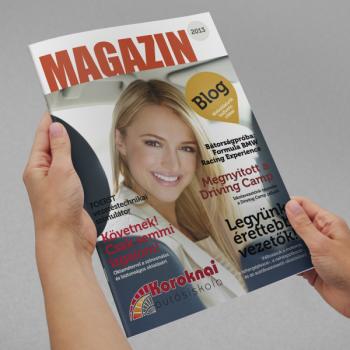 Koroknai Autósiskola magazin