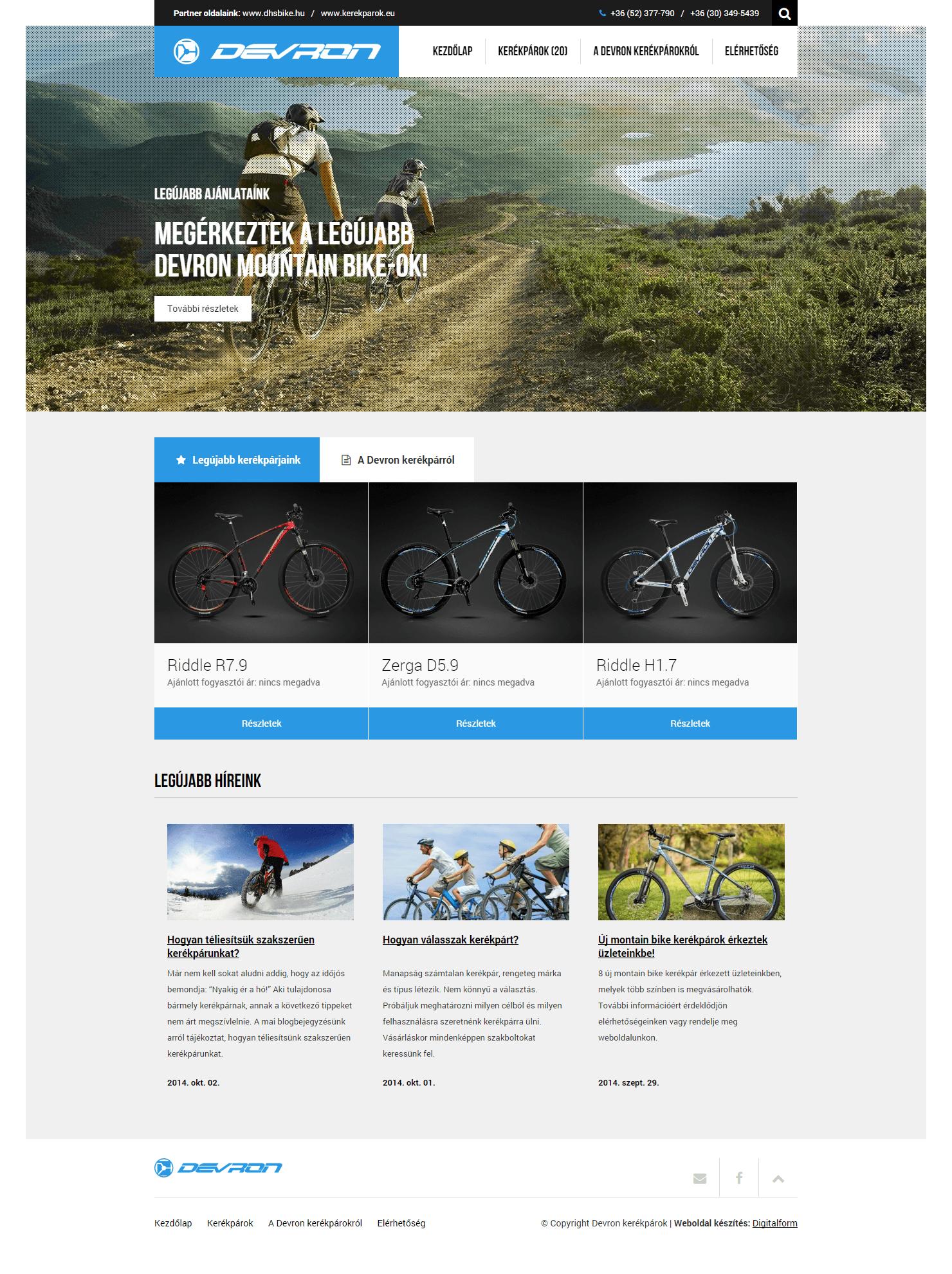 Devron kerékpárok