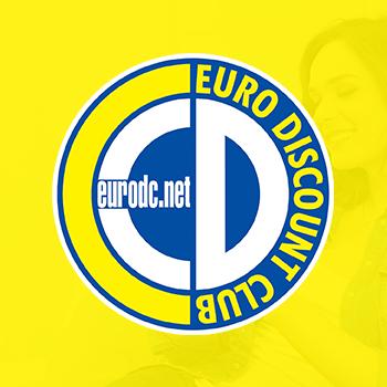 Euro Discount Club honlaptervezés